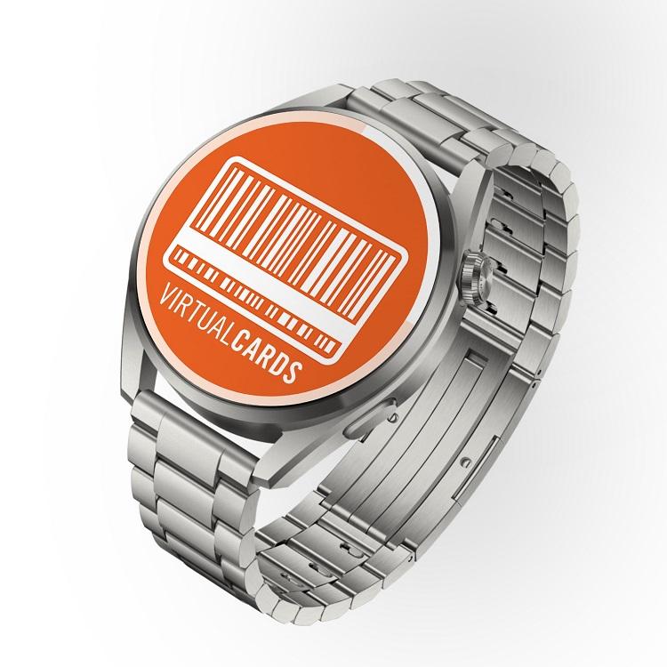 Cardurile stocate în aplicația Virtual Cards pot fi afișate direct pe ceasurile din seria Huawei Watch 3!