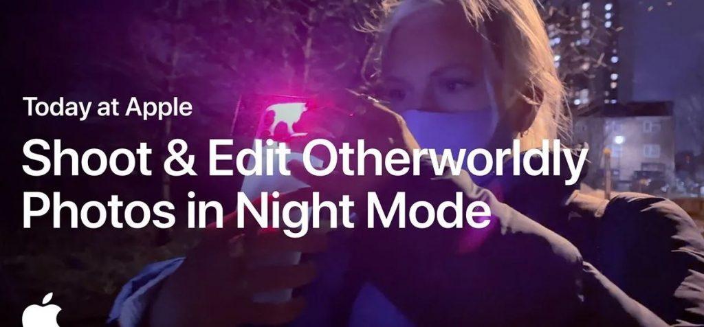 """Într-un nou material din seria """"Today at Apple"""", compania americană ne învață cum să facem poze de noapte cu iPhone-ul și cum să le edităm mai bine."""