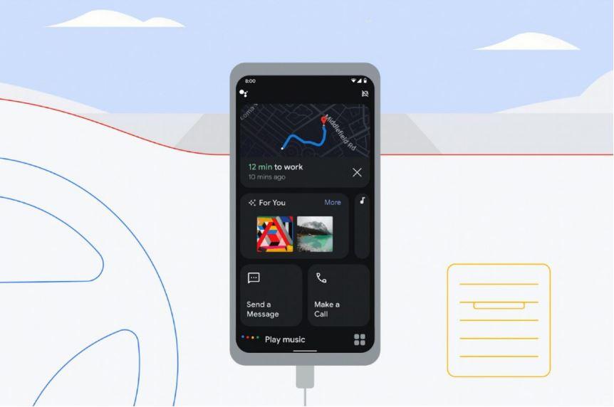 Google a anunțat schimbări în Android Auto incluzând o nouă interfață pentru Google Assistant.