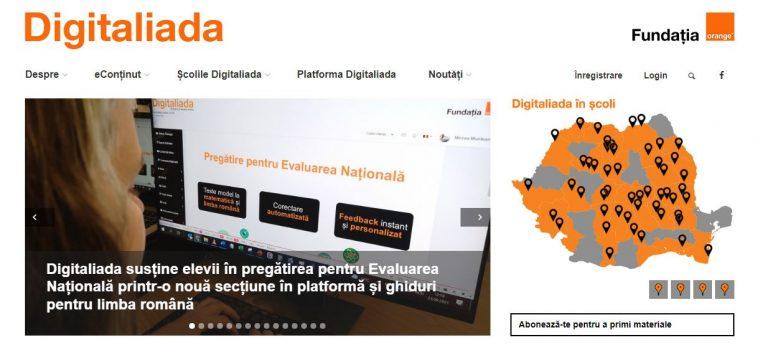 Programul de invatare online Digitaliada, la editia a 6-a