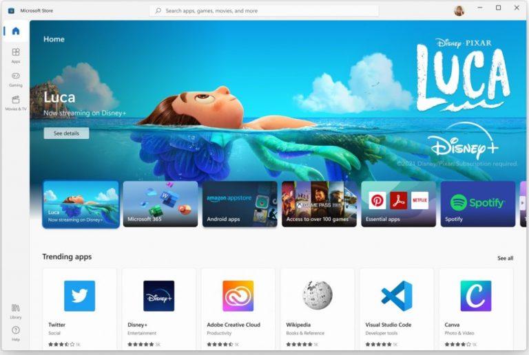 Microsoft Store va integra browser-e si magazine terte precum Amazon sau Epic Games Store