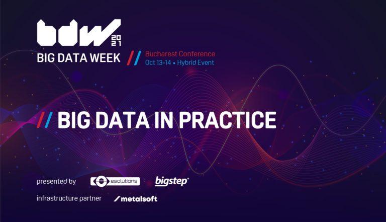 Invitatie: Big Data Week, 13-14 octombrie online si fizic