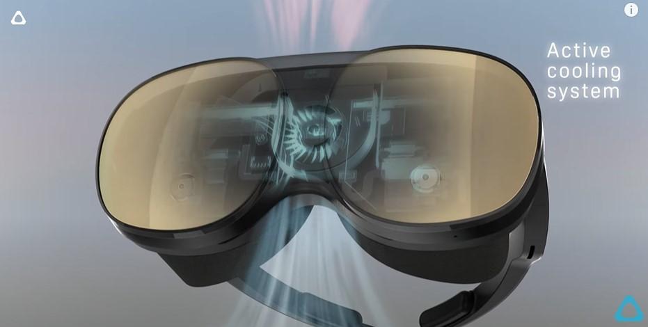 HTC a lansat Vive Flow VR, un set de căști pentru realitatea virtuală, cu aspect diferit de ceea ce știam până acum.