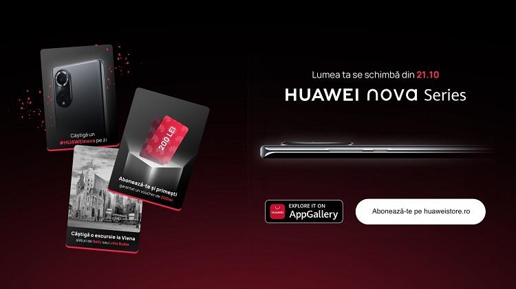 Pe 21 octombrie Huawei va prezenta smartphone-urile din seria Nova și până atunci are un concurs cu câte un smartphone premiu pe zi!