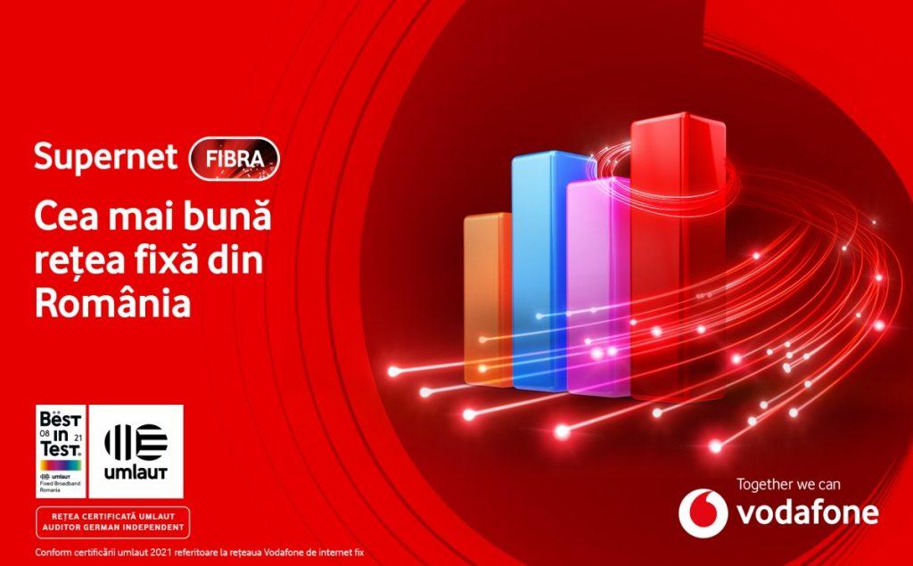 Auditorul german umlaut a certificat  Vodafone pentru rețeaua de internet fix.